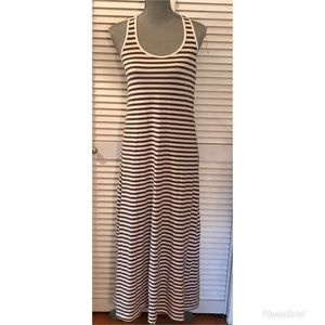 Tommy Bahama Striped Maxi Dress Small